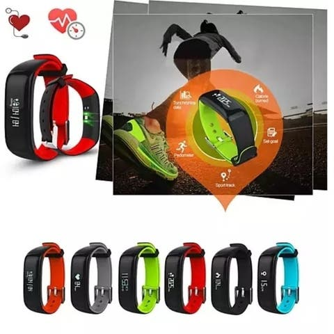 Smart And Healthy Blood Pressure -Heart Rate - Sleep And Activity Monitoring Watch