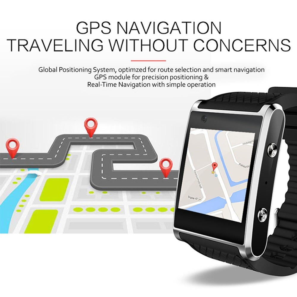 Android 5 1 SmartWatch by Indigi® [Bluetooth Sync + 1 54-inch AMOLED +  QuadCore + WiFi]