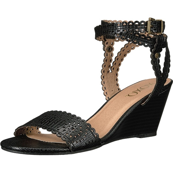 XOXO Womens Sissy Open Toe Casual Platform Sandals
