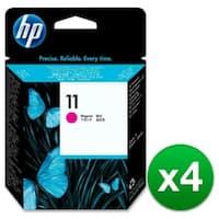 HP 11 Magenta Printhead (C4812A) (4-Pack)
