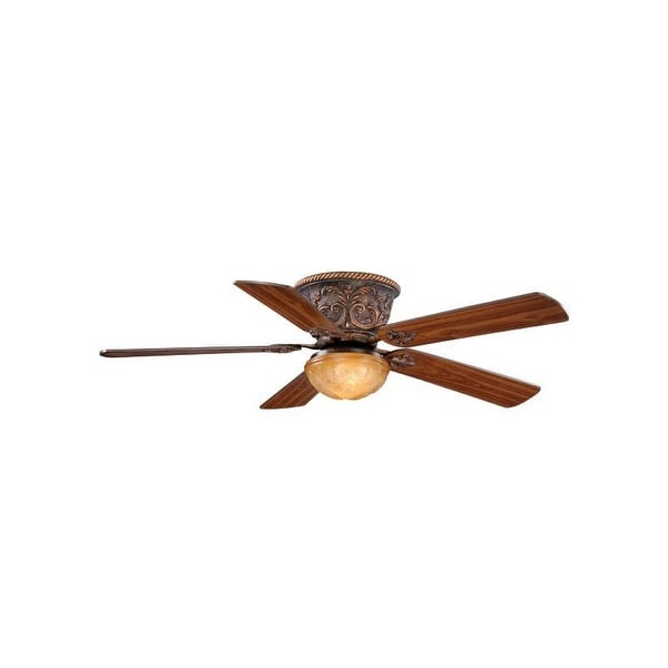 """Vaxcel Lighting FN52317 Corazon 52"""" 5 Blade Indoor Ceiling Fan - Light Kit and Fan Blades Included"""