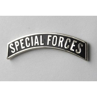US Army Special Forces Gold Black Lapel