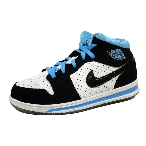 finest selection 7cc0f 59f69 Nike Pre-School Air Jordan Alpha 1 White Black-University Blue 393734-