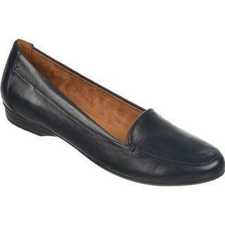 Naturalizer Women's Saban Classic Navy ET Sheep Premium Leather
