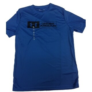 Under Armour Men's HeatGear Protect This House Graphic T-Shirt, Blue, Medium