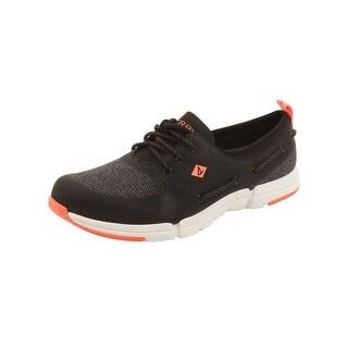 Sperry Womens Ripple Rush Sneakers in Dark Grey