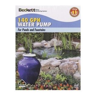 Beckett 7300210 Small Pond Medium Fountain Pump, 4 Watts, 120 Volt