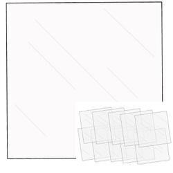 "- We R FUSEables Fuse Clear Sheets 12""X12"" 10/Pkg"