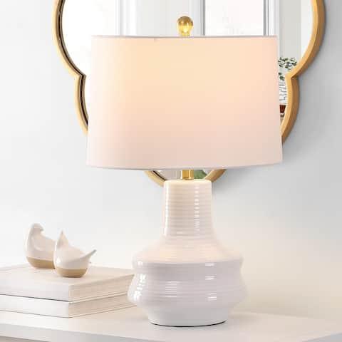 "SAFAVIEH Lighting Genra 24-inch LED Table Lamp - 15"" W x 15"" L x 24"" H"