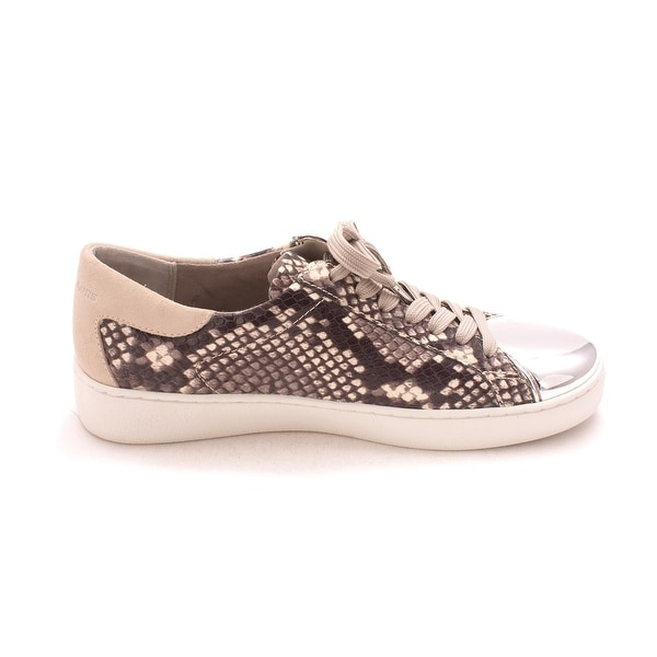 MICHAEL Michael Kors Womens Frankie Leather Low Top Lace Up Fashion Sneakers