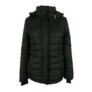 Rampage Women's Puffer Coat With Hood