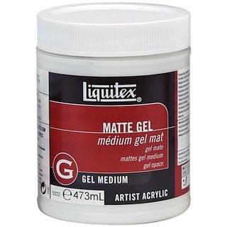 Liquitex Matte Acrylic Gel Medium-16oz