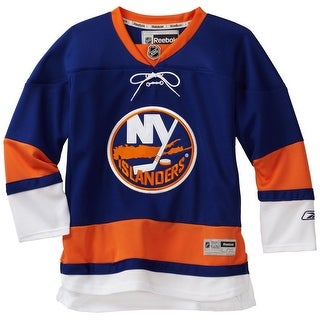 NHL Youth New York Islanders Team Color Premier Jersey - R58Hxbll (Blue, Small/Medium) - ROYAL