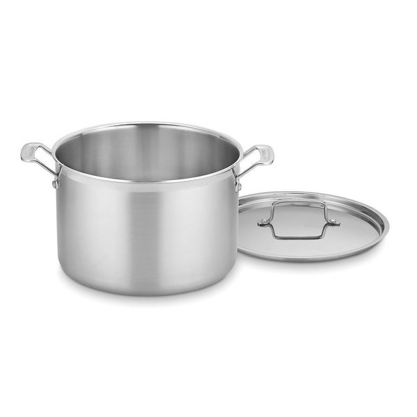 Cuisinart MCP66-28N MultiClad Pro Stainless 12-Quart Stockpot with Cover. Opens flyout.