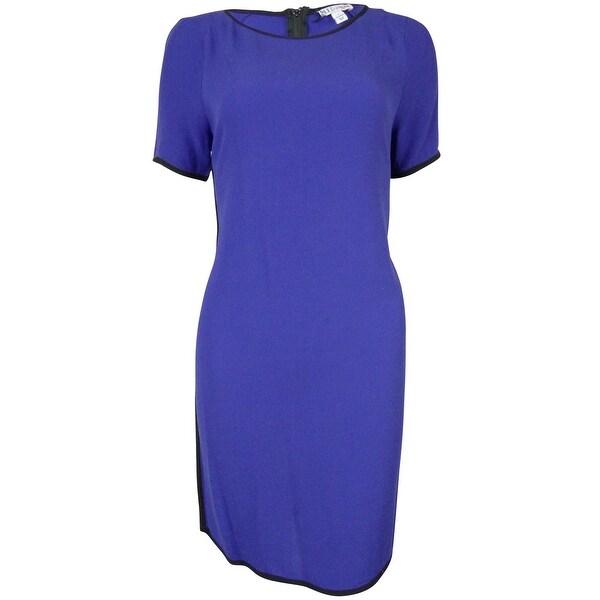 MADE for IMPULSE Women's Short Sleeve Dress - spect blue
