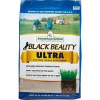 Jonathan Green 10323 Black Beauty Ultra Grass Seed Mixture, Up To 10000 Sqft, 25Lb