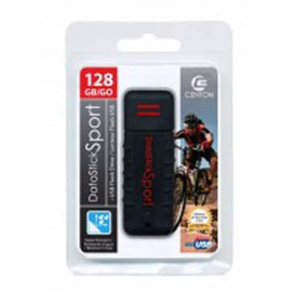 Centon S1-U2W1-128G DataStick Waterproof 128GB USB Flash Drive - Black