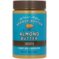Barney Butter - Smooth Almond Butter ( 6 - 16 oz jars)