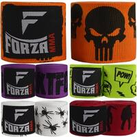 """Forza Sports 180"""" Mexican Style Boxing and MMA Handwraps - 5-Pack"""
