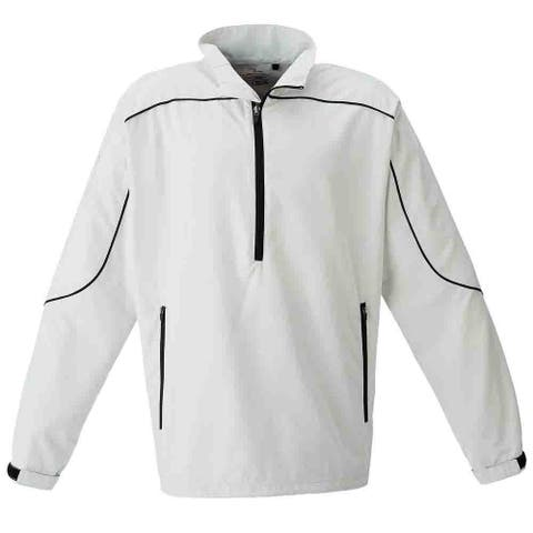 Page & Tuttle Mens Free Swing Peached Windshirt Golf Athletic Outerwear Jacket
