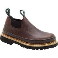 Georgia Boot Children's GR7 Little Georgia Giant Romeo Soggy Brown Leather