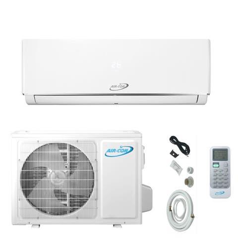 Air-Con Serene Series 9000 BTU Ductless Mini Split 230V Air Conditioner