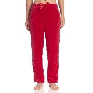 Body Touch Women's Pajama Plush Pants