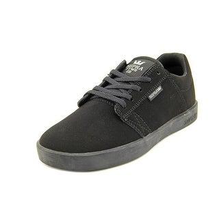 Supra Kids Westway Round Toe Suede Sneakers