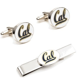 University of California Bears Cufflinks and Tie Bar Gift Set CAL - Blue
