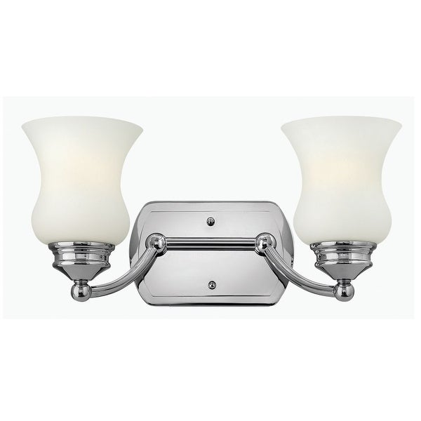 Hinkley Lighting 50012 2 Light Bathroom Vanity Light from the Constance Collection - Chrome