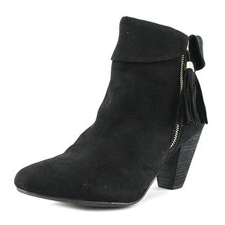 Report Moriah   Round Toe Suede  Ankle Boot