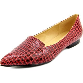 Bellini Flora Women W Pointed Toe Synthetic Red Flats