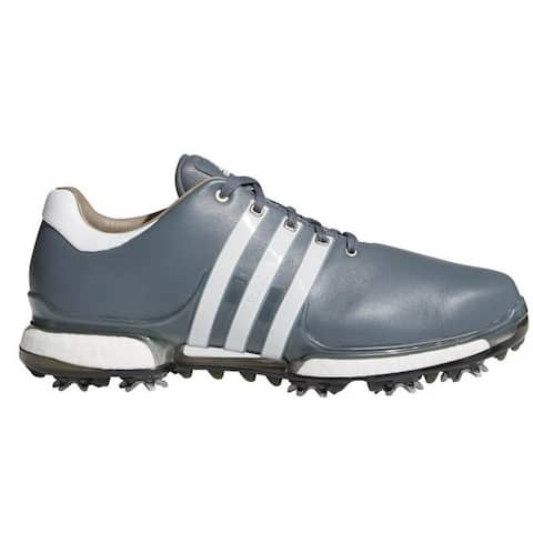 New Men's Adidas Tour 360 Boost 2.0 Golf Shoes Onix/Cloud White/Core Black F33627
