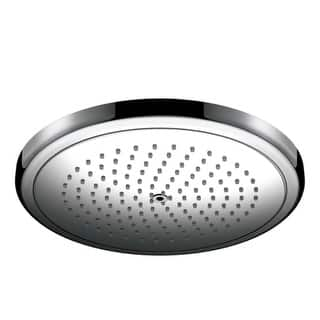 hansgrohe rain shower head. Hansgrohe 26221 Croma 1 8 GPM Single Function Rain Shower Head with Quick  Clean Heads For Less Overstock com