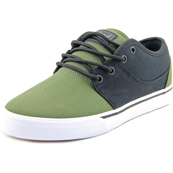 Globe Mahalo Men Round Toe Canvas Black Skate Shoe