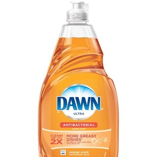 Dawn Ultra 91888 Antibacterial Dishwashing Liquid, Orange, 21.6 Oz