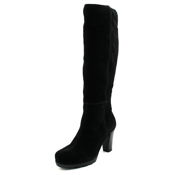 La Canadienne May Women Round Toe Suede Knee High Boot
