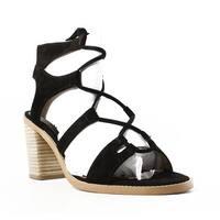 Dolce Vita Womens Misha Black Ankle Strap Heels Size 10