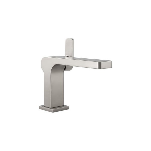 Mirabelle MIRWSCHI100 Hibiscus 1.2 GPM Single Hole Bathroom Faucet with Pop-Up Drain Assembly