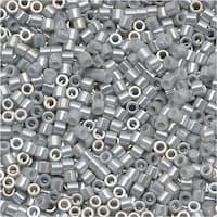 Miyuki Delica Seed Beads 15/0 Ceylon Grey DBS0252 4 GR
