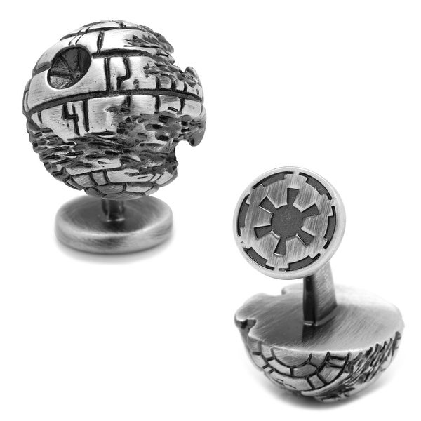 3D Death Star II Cufflinks