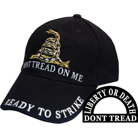 Don't Tread on Me Ready to Strike Hat