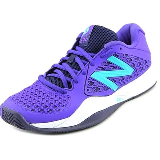 New Balance WC996 Women Round Toe Synthetic Tennis Shoe
