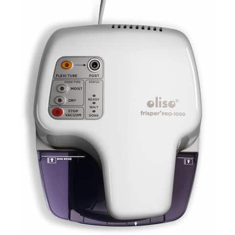 Oliso Pro Frisper PRO-1000 Smart Vacuum Sealer Starter Kit, White