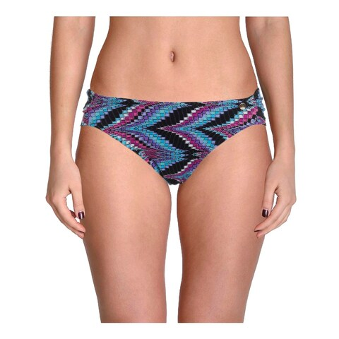 Raisins Womens Juniors Cocoa Beach Printed Hipster Swim Bottom Separates