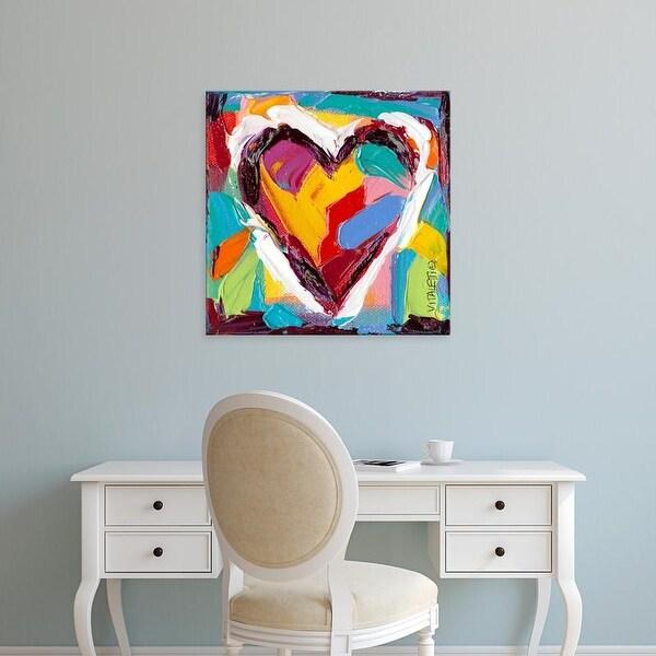 Easy Art Prints Carolee Vitaletti's 'Colorful Expressions II' Premium Canvas Art
