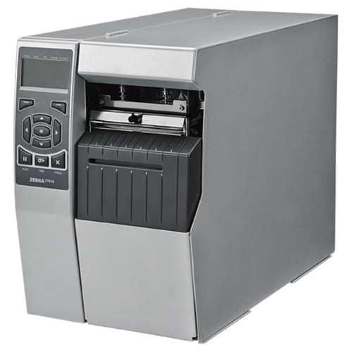 Zebra Zt41042-T010000z Barcode Label Printer Monochrome 300 Dpi Black/Silver
