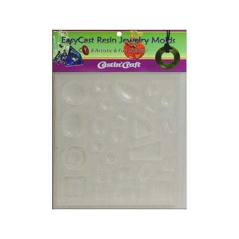 Castin'Craft Reuseable Molds Jewelry 8 Shapes