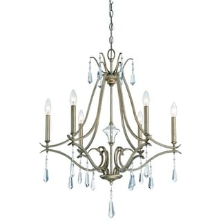 Minka Lavery 4446-582 6 Light One Tier Chandelier from the Laurel Estate Collection