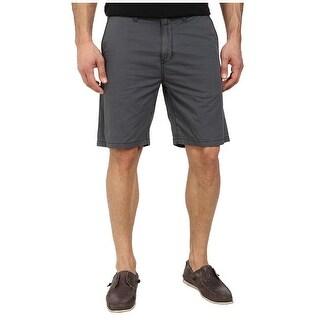 John Varvatos NEW Gray Mens Size 28 Khakis Chinos Cotton Short